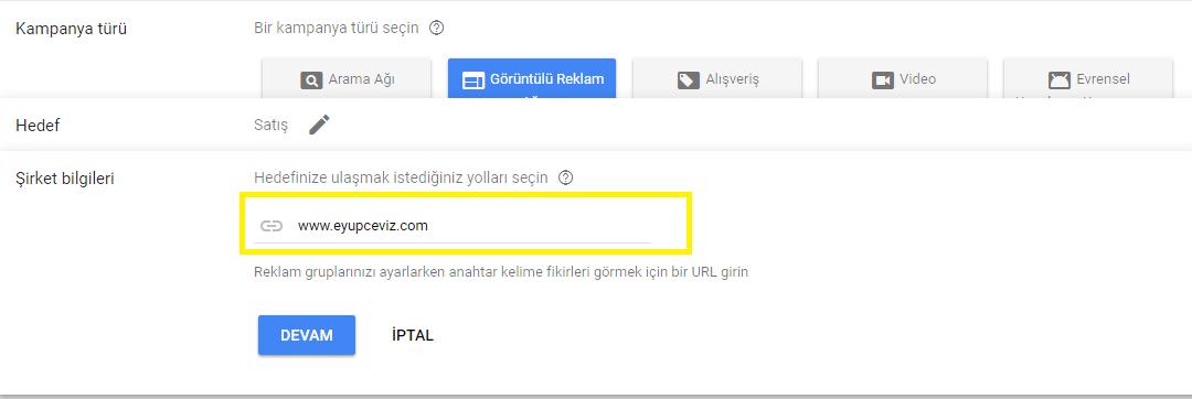Gmail Sponsorlu Reklam Nasıl Verilir